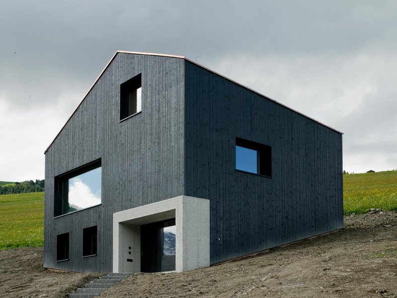 Hurst Song Architekten: Holzkristall, Haus in Lumbrein - best architects 11