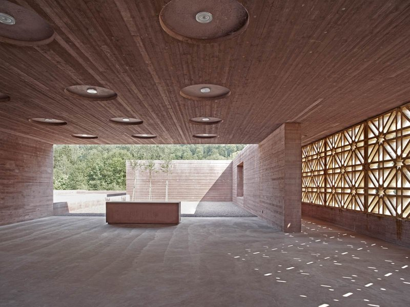 Architekt Bernardo Bader: Islamischer Friedhof Altach - best architects 14