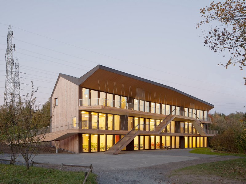 LOCALARCHITECTURE: Steiner Schule in Bois-Genoud - best architects 15