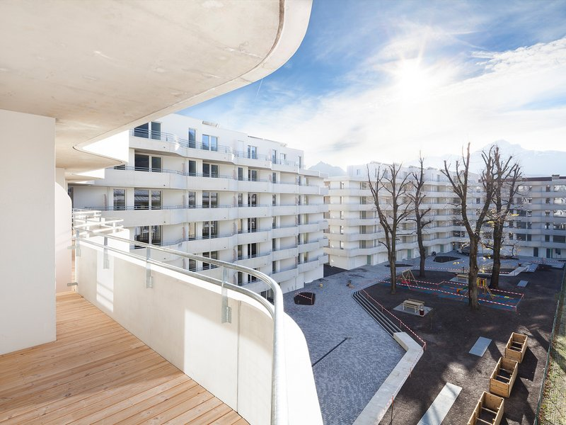 Schenker Salvi Weber Architekten: Wohnbebauung Sillblock - best architects 16 in Gold