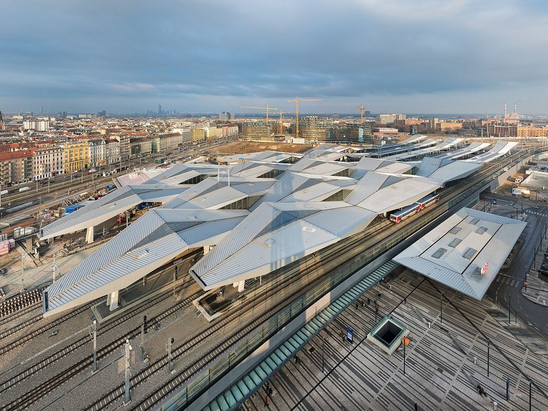 Theo Hotz Partner Architekten: Hauptbahnhof Wien - best architects 17