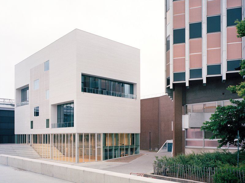 Raum: Musikhochschule Nantes - best architects 18