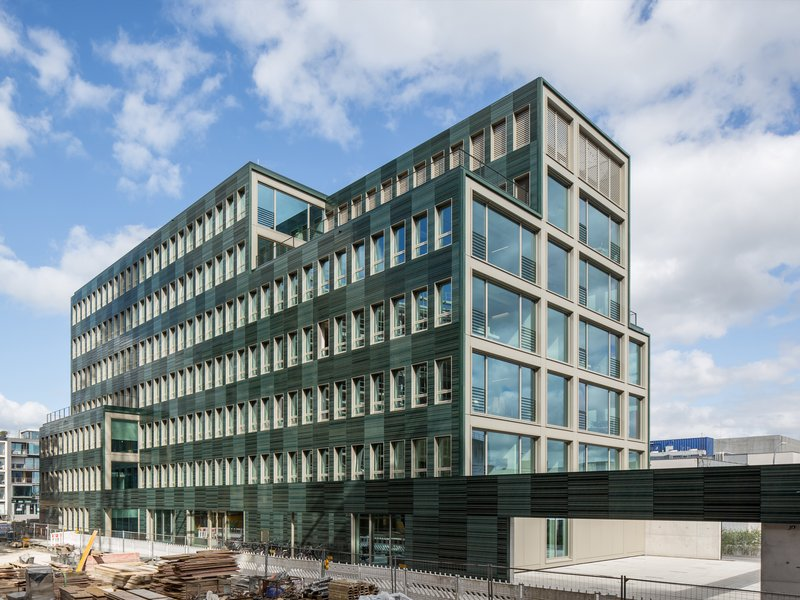 Andreas Heupel: Verwaltungsgebäude H7 in Münster - best architects 18 in Gold