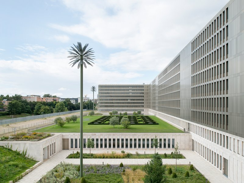 Kleihues + Kleihues: Zentrale des Bundesnachrichtendienstes in Berlin - best architects 18