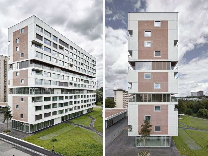 Boltshauser Architekten: Wohnhochhaus Hirzenbach - best architects 18 in Gold