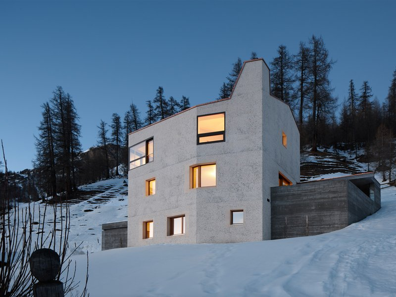 Ruinelli Associati Architetti: Einfamilienhaus im Münstertal - best architects 18