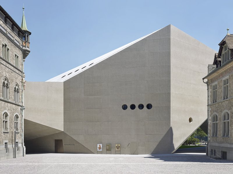 Christ & Gantenbein: Schweizerisches Landesmuseum - best architects 18 in Gold
