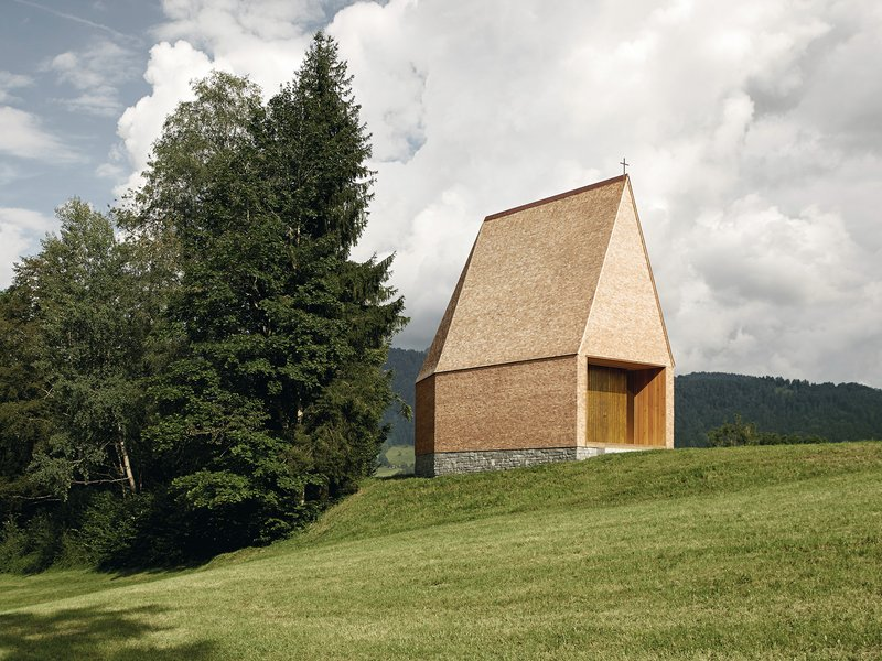 Architekt Bernardo Bader: Kapelle Salgenreute - best architects 18 in Gold