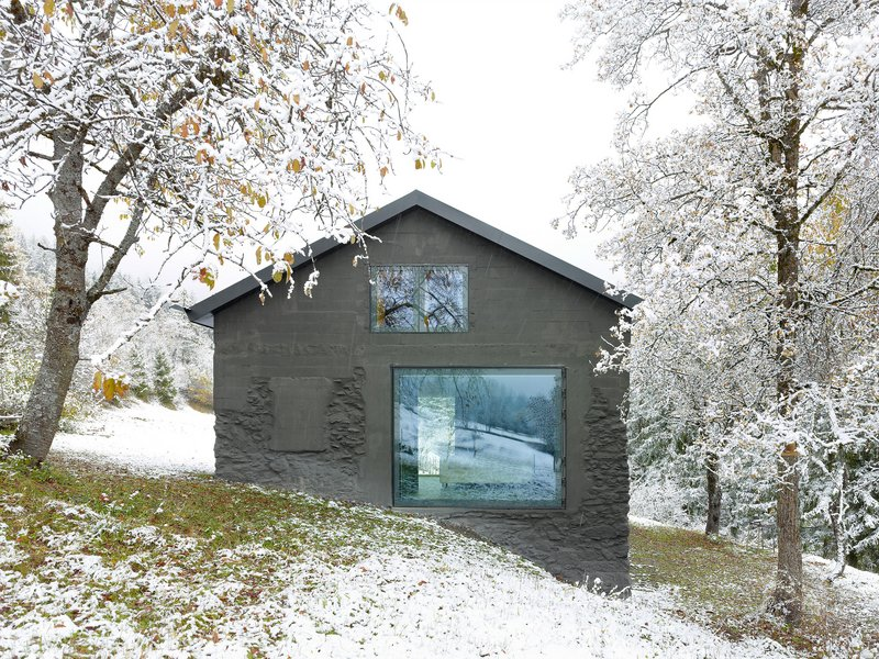 savioz fabrizzi architectes: savioz haus - best architects 18 in Gold
