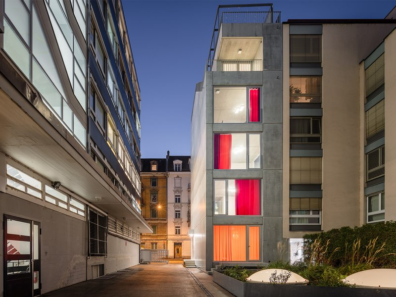 Holzer Kobler Architekturen: ELLI - best architects 19 in gold