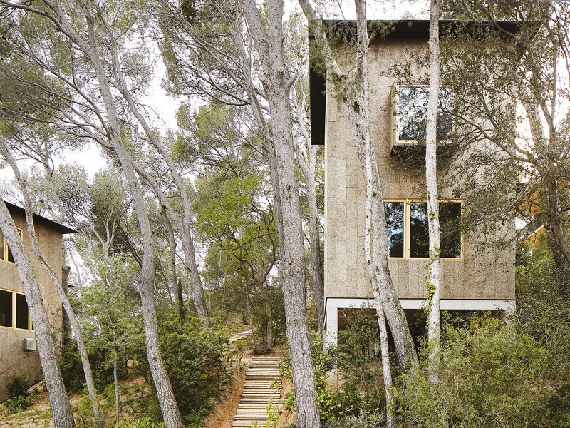 López Rivera Arquitectes: Two Cork Houses - best architects 19 in gold