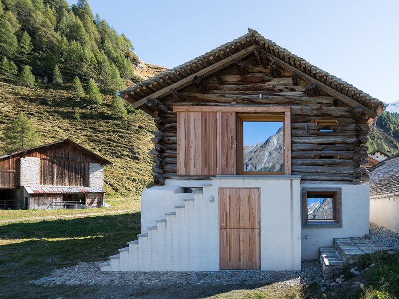 Ruinelli Associati Architetti: Umnutzung/Umbau in Isola-Maloja - best architects 19