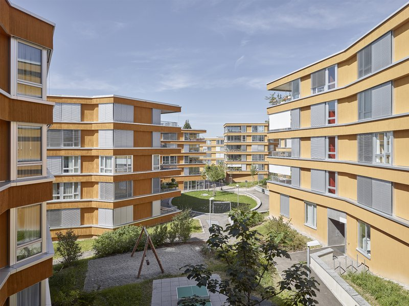 BS+EMI Architektenpartner: Wohnsiedlung Toblerstrasse - best architects 19