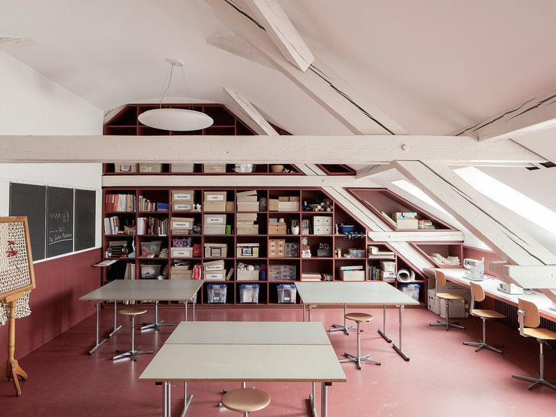 MET Architects: Schulhaus St. Johann - best architects 19 in gold