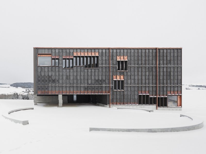 TEd'A arquitectes: Schule in Orsonnens - best architects 19 in gold