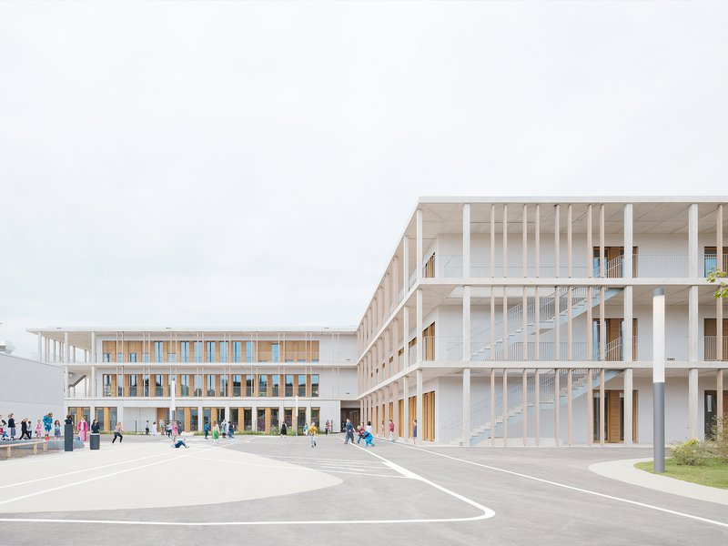 wulf architekten: Vier Grundschulen in modularer Bauweise - best architects 20