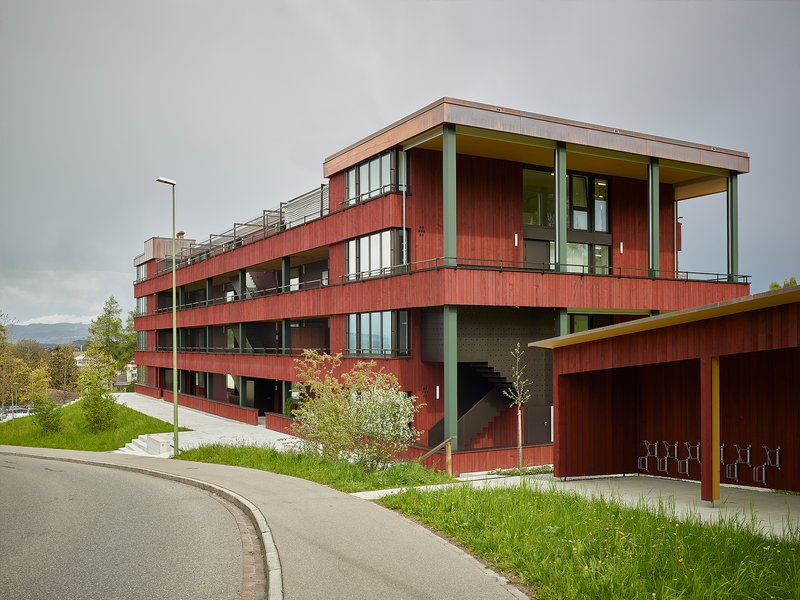 Baumberger & Stegmeier Architekten: Multifunktionales Wohnhaus - best architects 21