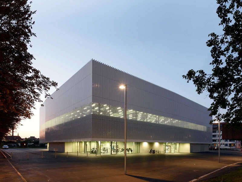weberbrunner: Sporthalle Hardau - best architects 09