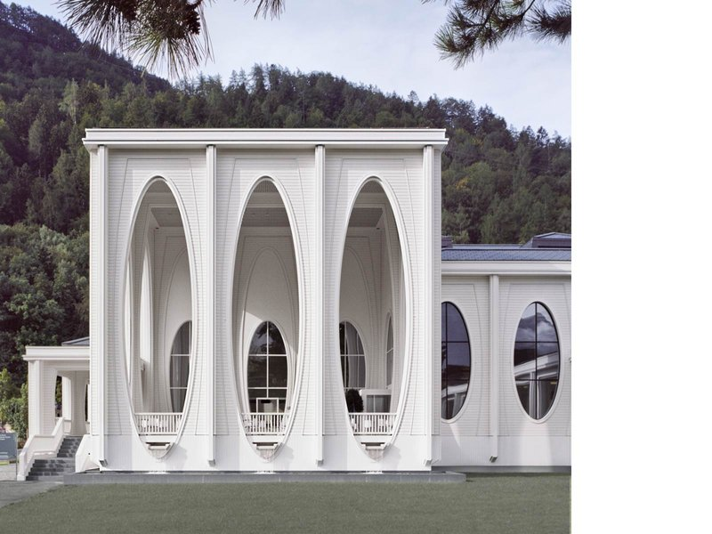 Smolenicky & Partner Architektur: Tamina Therme, Bad Ragaz - best architects 11 gold