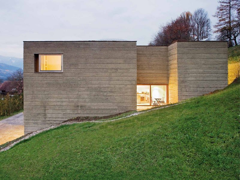 Boltshauser Architekten / Lehm Ton Erde: Haus Rauch - best architects 11 gold