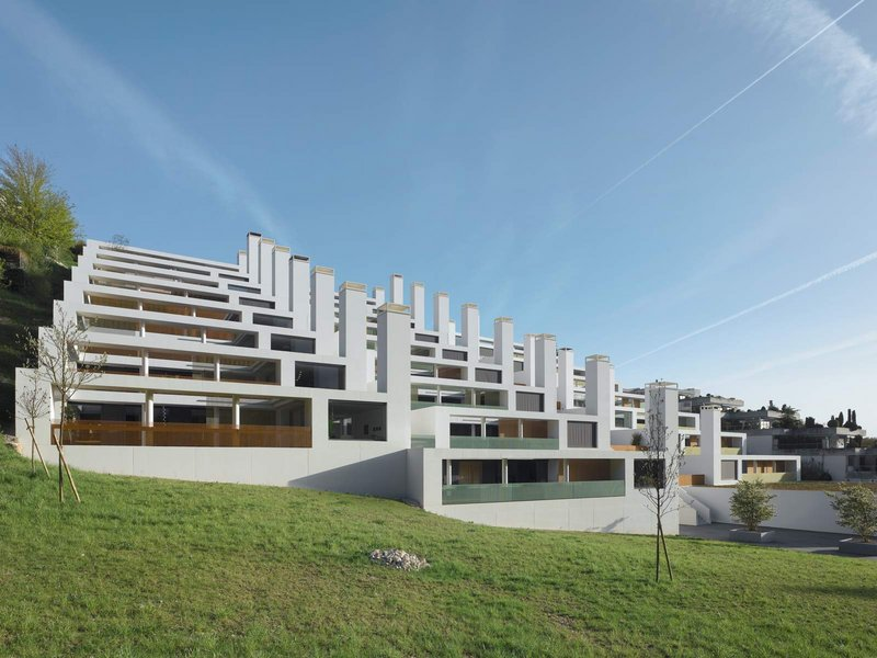 Burkard Meyer Architekten: Wohnüberbauung Allmend, Baden - best architects 12 gold