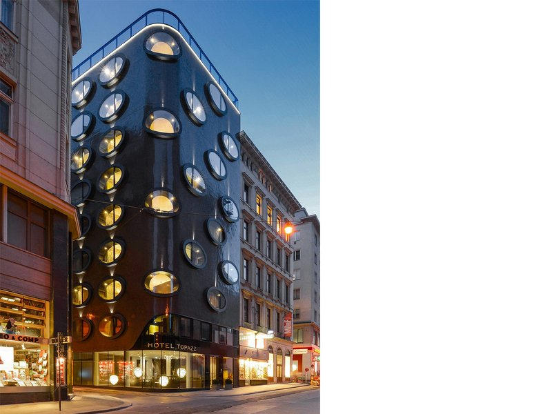 BWM Architekten / Michael Manzenreiter Architecture: Hotel Topazz - best architects 14