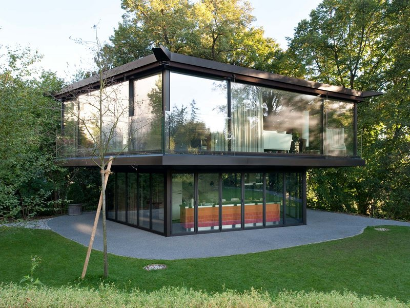 Oliv Brunner Volk Architekten: Ein Gartenpavillon in Zürich - best architects 15