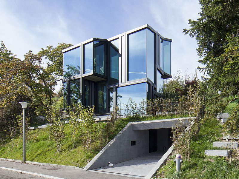 L3P Architekten: Trübel – new residence on a vineyard slope - best architects 16