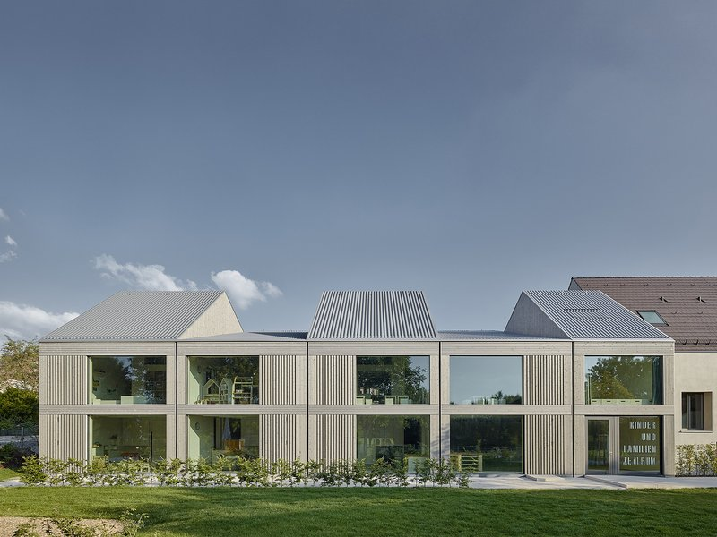 VON M: Children's and family centre Ludwigsburg-Poppenweiler - best architects 17