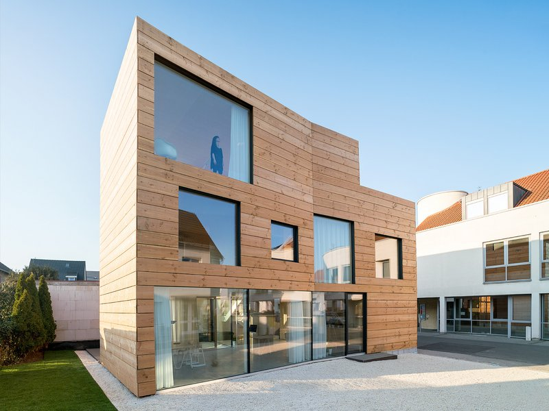 MIND AC: SCL // Solid timber building - best architects 17