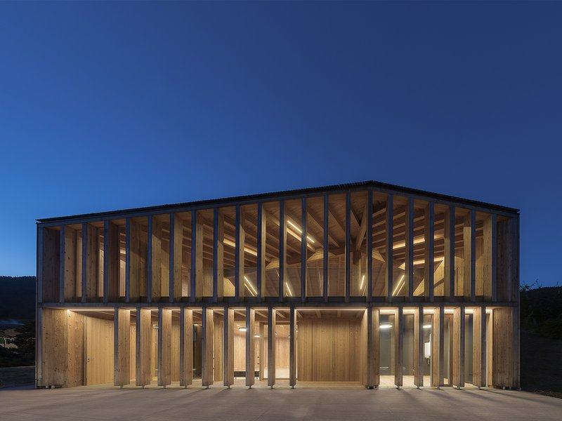 Mirko Franzoso architetto: New community centre in Caltron - best architects 17
