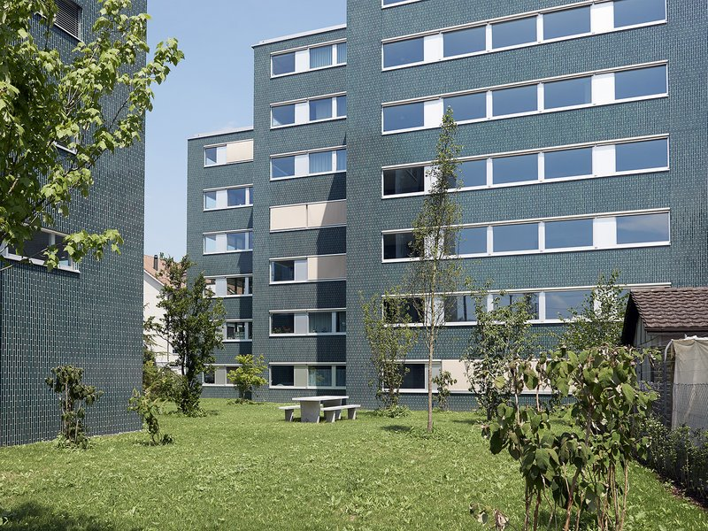 pool Architekten: »Am Bahnhof« residential and commercial complex / Wohlen - best architects 17