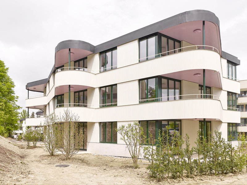 BS+EMI Architektenpartner: Am Katzenbach III housing estate - best architects 17