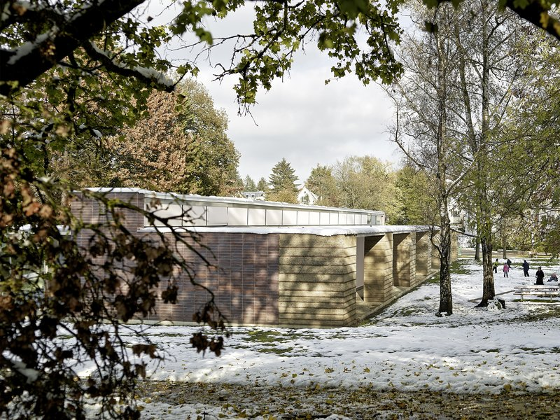 Boltshauser Architekten: Schulpavillon Allenmoos II - best architects 18