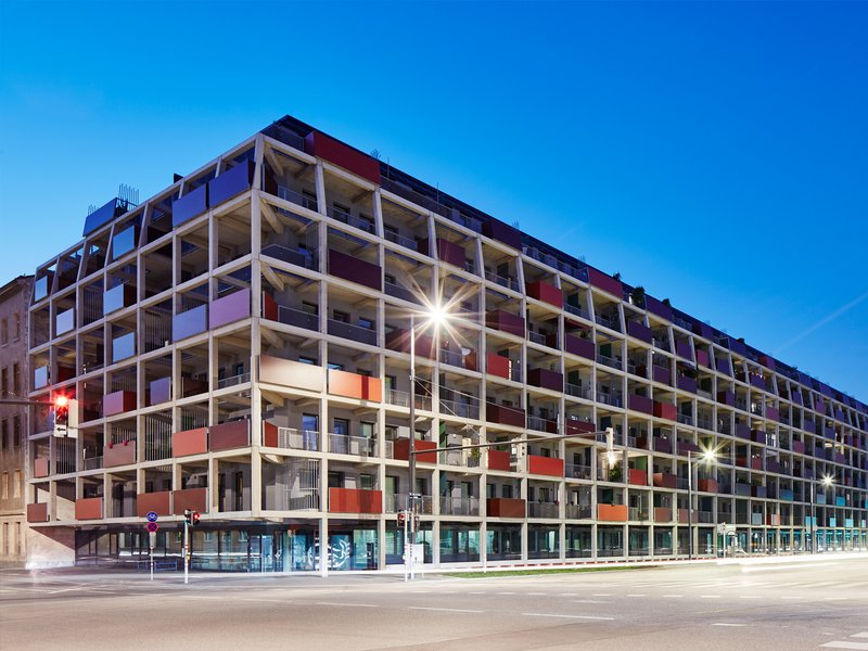 Geiswinkler & Geiswinkler: SMART housing development / Main Station / Sonnwendviertel - best architects 18