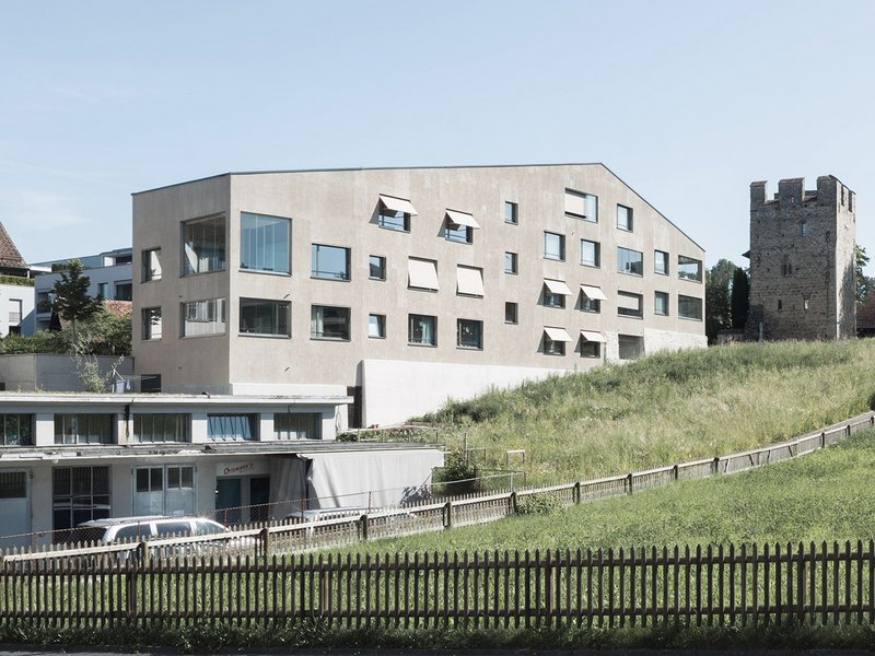 Graber & Steiger Architekten: Mühle – residential and commercial building / Sempach - best architects 18