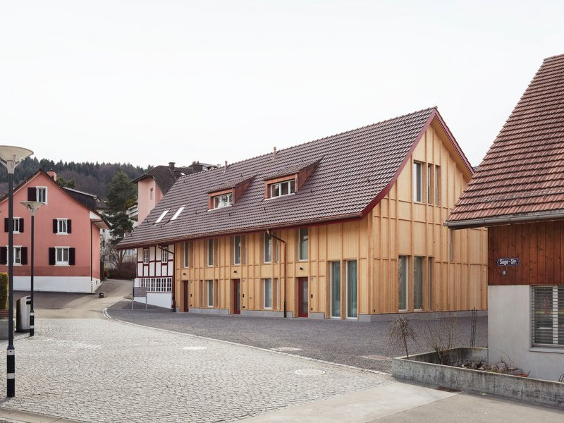 Singer Baenziger Architekten: Farmhouse renovation & replacement of barn - best architects 18