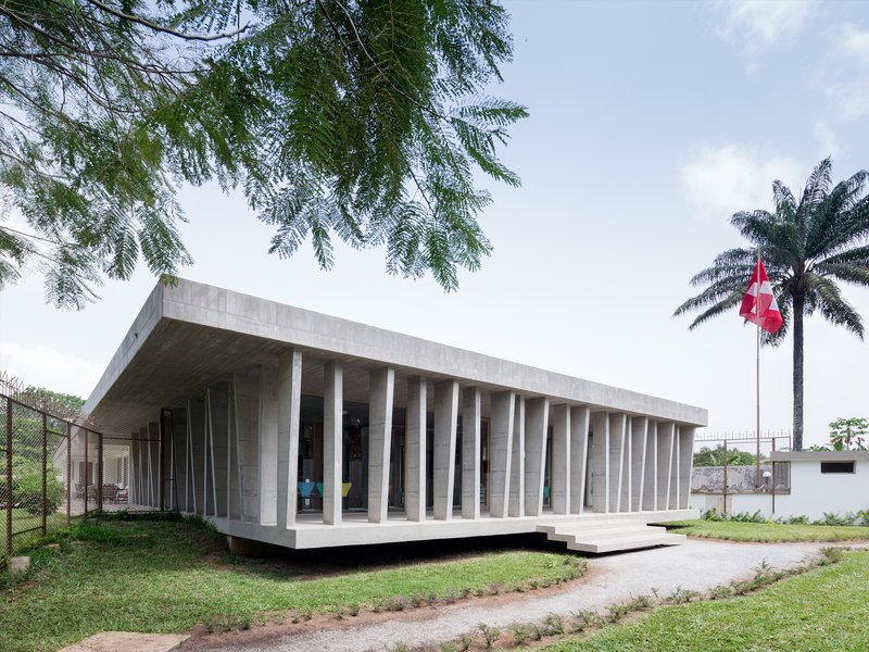 LOCALARCHITECTURE: New Swiss Embassy in Abidjan - best architects 18