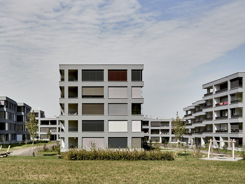 Luca Selva Architekten: New residential complex in Widmi-Park - best architects 19