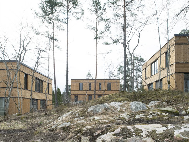 Hermansson Hiller Lundberg: Three semi-detached houses in Sunnersta - best architects 19