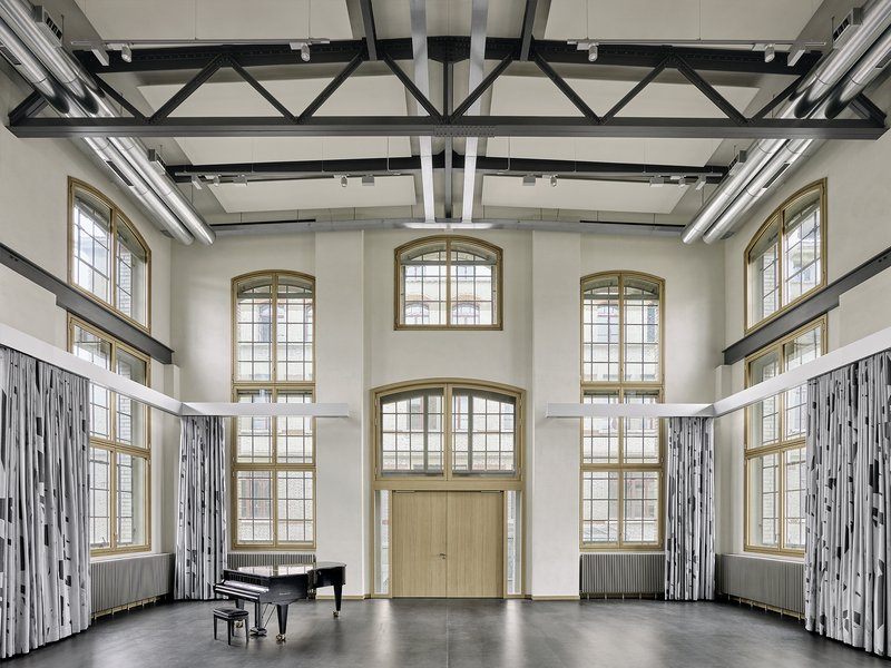 giuliani.hönger: Music building in vonRoll area  - best architects 19