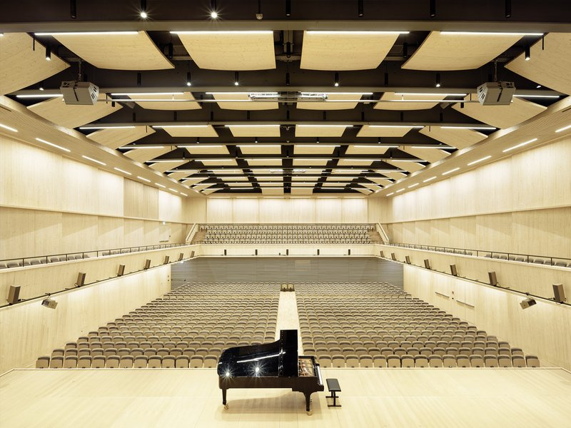 spillmann echsle architekten: Tonhalle Maag interim concert hall - best architects 19