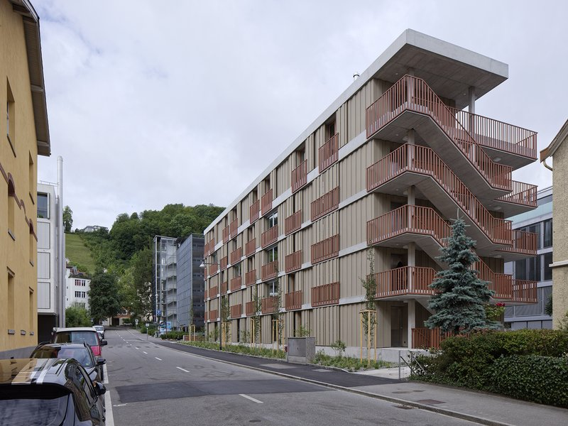 Meier Leder Architekten: Apartment house on Gartenstrasse - best architects 19 in gold