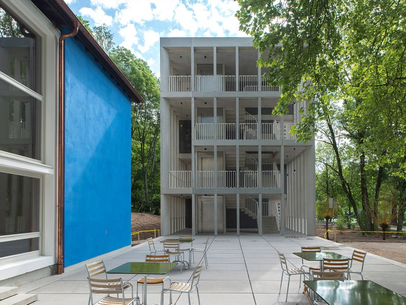Aebi & Vincent Architekten SIA AG: Refurbishment and extension of Bern youth hostel - best architects 19