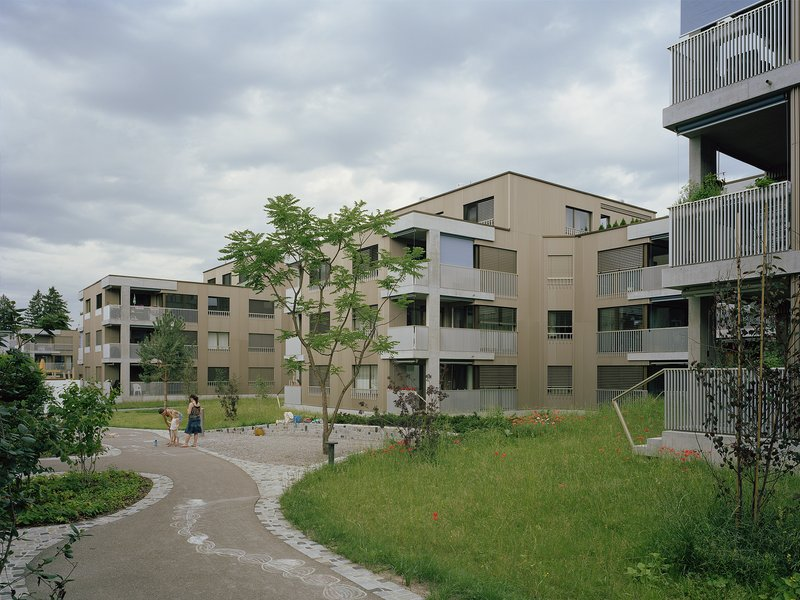Blättler Dafflon Architekten AG: Riedgraben housing development - best architects 20