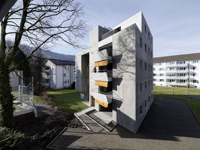 gus wüstemann architects: Affordable Housing in Zurich for the Baechi Foundation - best architects 20 gold