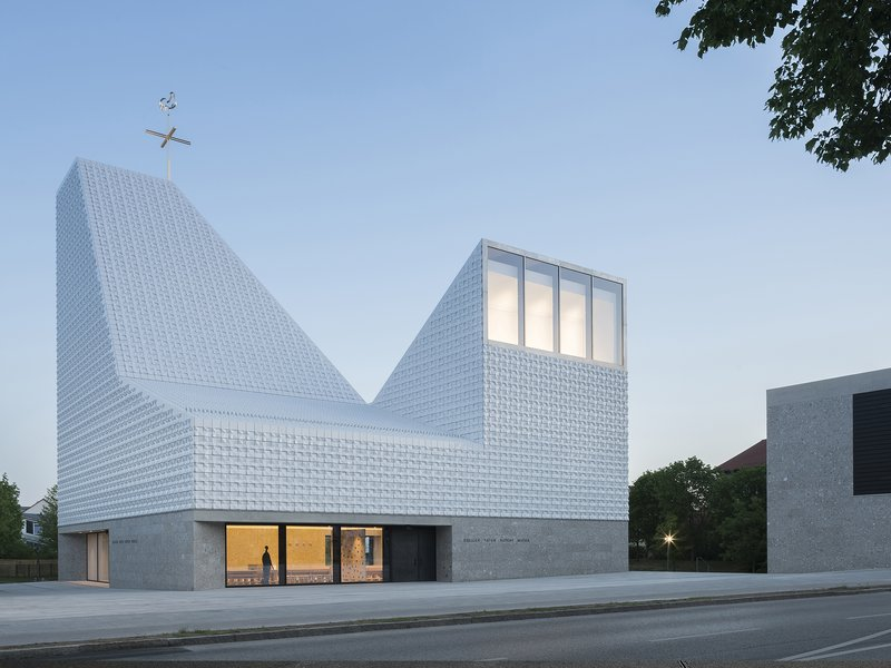 meck architekten: Church centre Seliger Pater Rupert Mayer - best architects 20