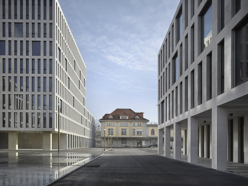 Aebi & Vincent Architekten: New build, renovation and remodelling of the Guisanplatz administrative centre - best architects 20