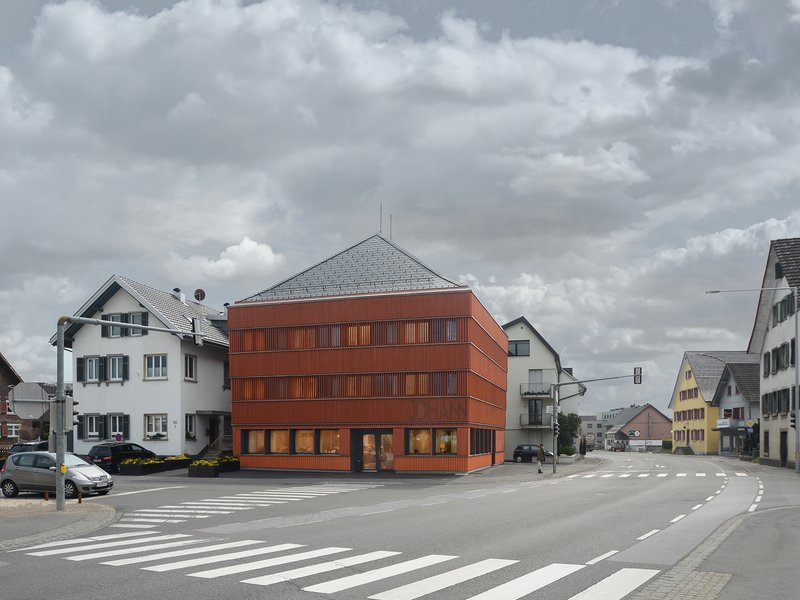 Ludescher + Lutz Architekten: Johann | Restaurant and hotel on the Alter Markt | Lauterach - best architects 20 gold