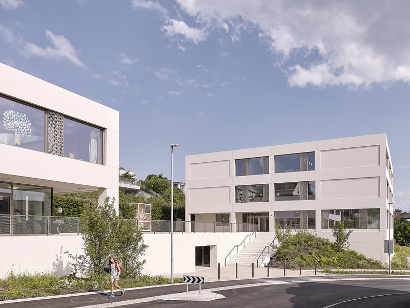 BGM ARCHITEKTEN : New construction Goldbach school house - best architects 21